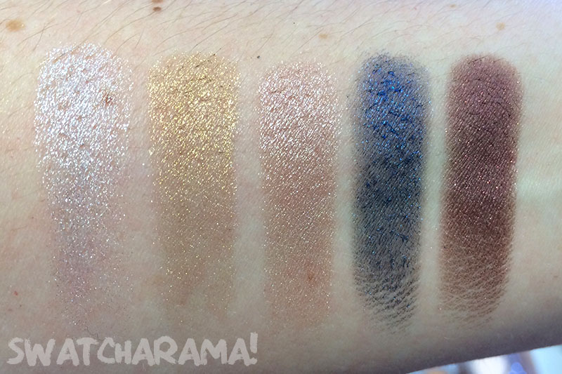 Bourjois Color Edition 24H eyeshadow | Swatcharama!